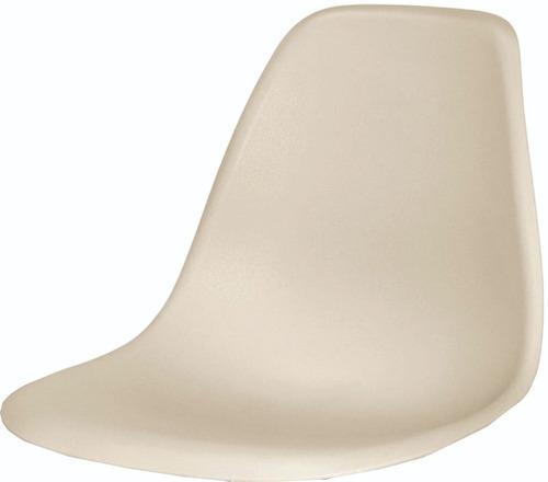 silla eames beige arena combo dos unidades
