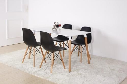 silla eames de comedor (primera calidad) varios colores