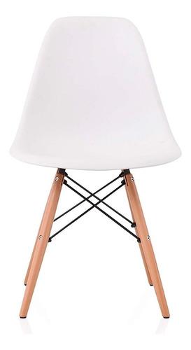 silla eames dsw clasica blanca muebles metinca