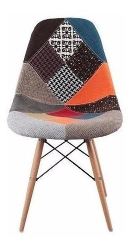silla eames dsw patchwork 2 diseños muebles metinca