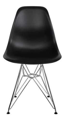 silla eames eiffel hood comedor sillas moderna pata metalica