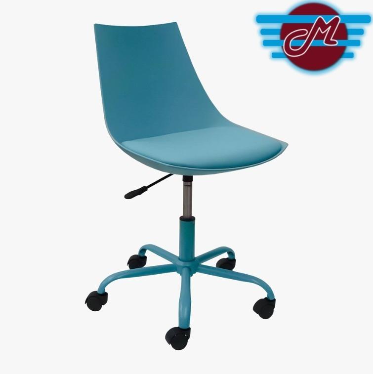 Minimalista Grupo Oficina Gris Q Microtec Ruedas Eames Silla 5AL4jR