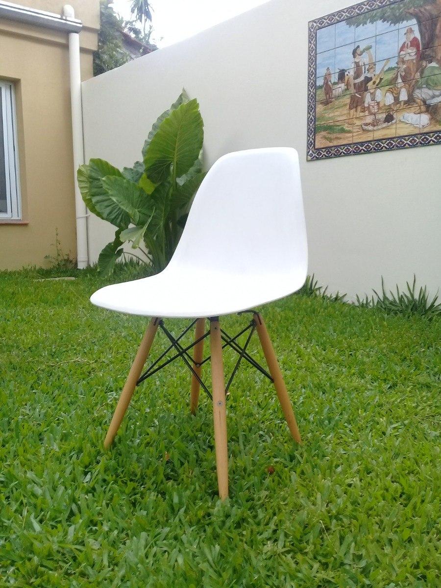 Silla Eames Set X4 Unidades De Comedor Cocina Nordica Diseño ...