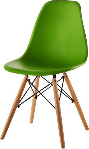 silla eames tradicional color negro moderna y elegante