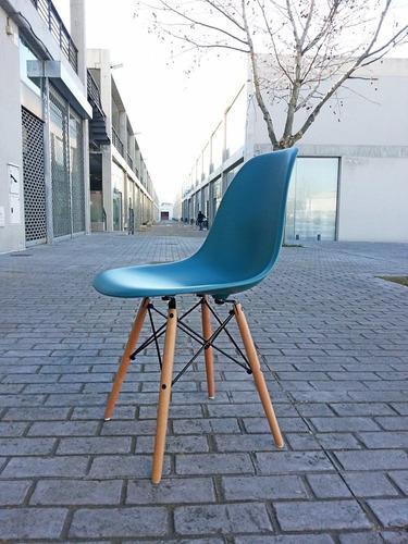 silla eames turquesa - precio de promociòn