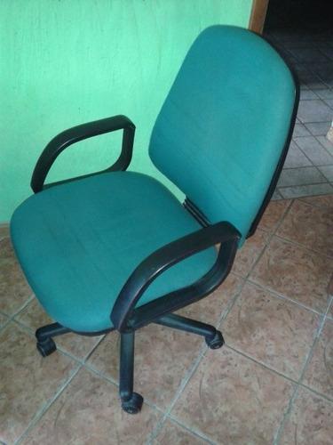 silla ejecutiva, color verde
