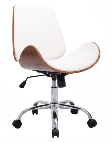 Silla ejecutiva moderna para escritorio apple blanco for Sillas escritorio modernas