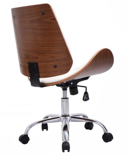 Silla ejecutiva moderna para escritorio apple blanco msi for Silla escritorio moderna