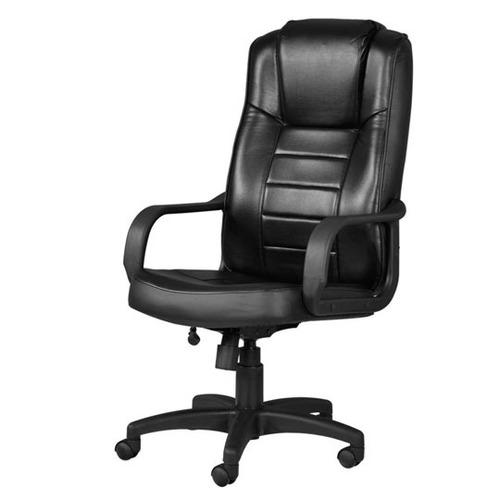 Silla ejecutiva ofik 4087 color negro 3 en for Sillas de visita para oficina