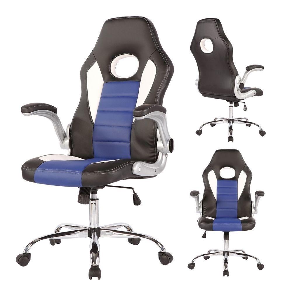 Silla ejecutiva piel para escritorio y gamers 3 for Precio silla escritorio
