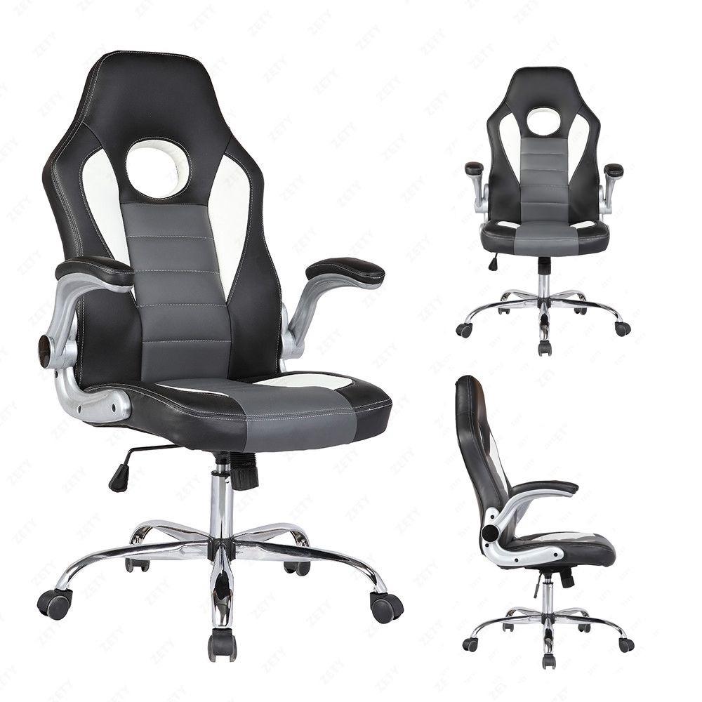 Silla ejecutiva piel para escritorio y gamers 2 for Sillas para escritorio