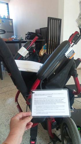 silla eléctrica nueva. haga sus preguntas
