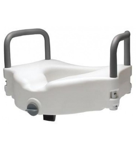 silla elevador sanitario con brazos y seguro