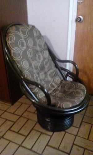 silla en ratan