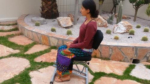 silla ergonomica 2 en 1