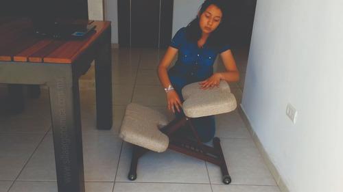silla ergonómica , de metal