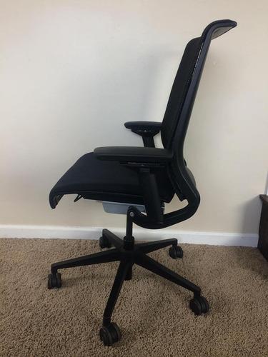 silla ergonomica de oficina steelcase think mesh negra red