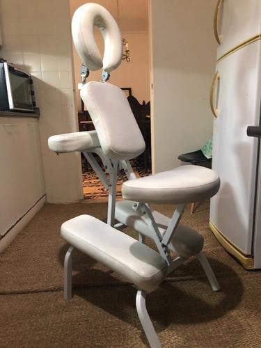 silla ergonomica masajes usada