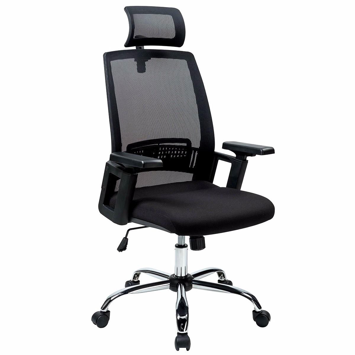 Silla ergonomica p oficina reclinable escritorio vp0026 for Silla escritorio oficina