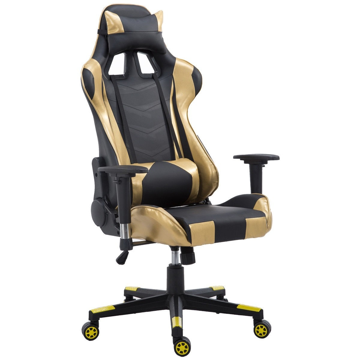 Silla ergonomica para oficina moderna escritorio oro for Silla de escritorio precio