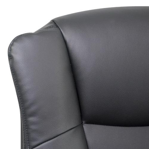 silla ergonómica ruedas para casa hogar oficina piel
