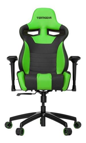 silla ergonomica vertagear racing  sl4000 gaming ngo/verde