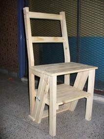 silla escalera plegable