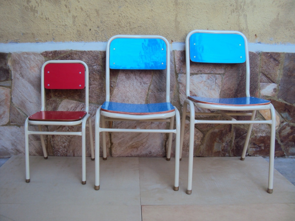 Silla Escolar F Brica Nivel Inicial Maternal Jard N 590 00  # Muebles Para Nivel Inicial