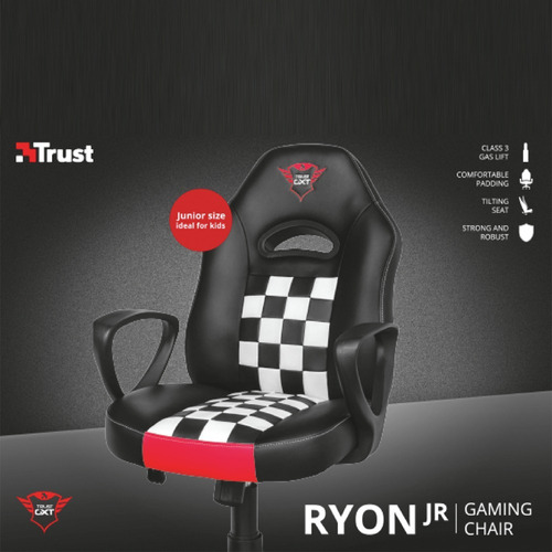 silla escritorio gamer junior trust gxt 702 ryon