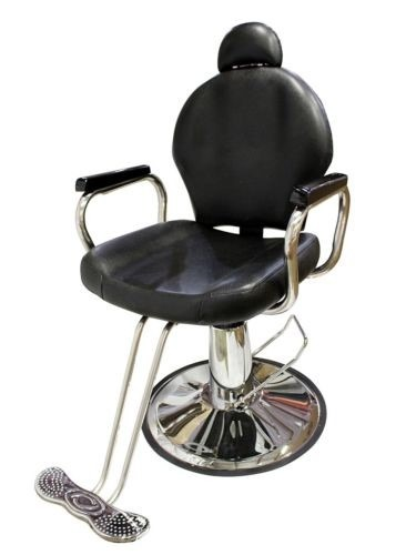 Silla estetica salon reclinable peluqueria barberia for Sillas para barberia