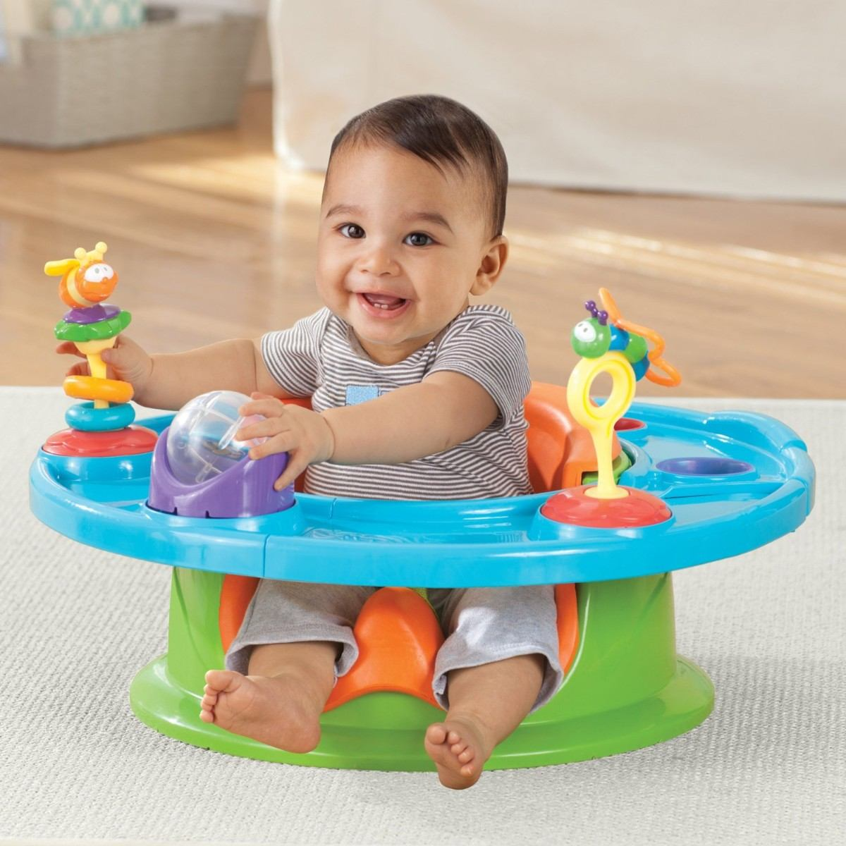Silla estilo bumbo para beb 3 en 1 asiento juegos comida 1 en mercado libre - Silla de mesa para bebe ...