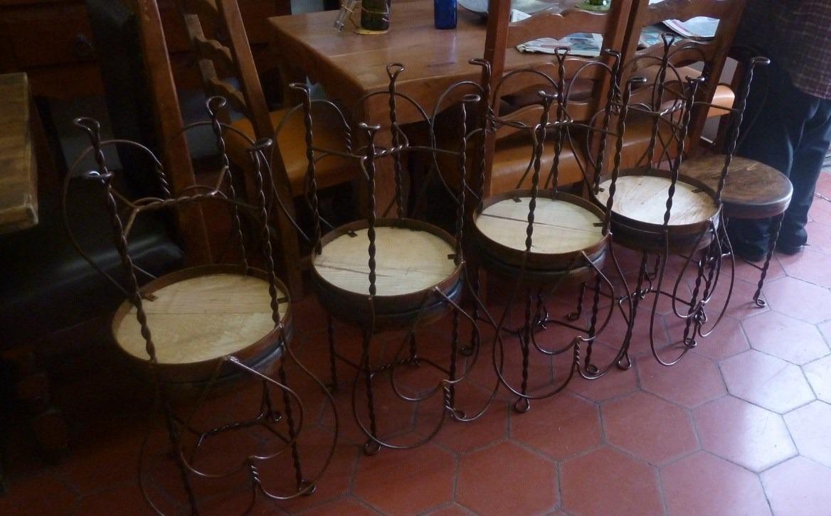 Silla estilo cantina antigua 1 en mercado libre - Estilos de sillas antiguas ...