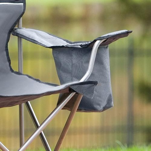 silla extragrande con hielera coleman