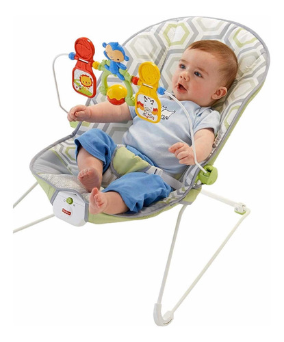 silla fisher price mecedora bebe