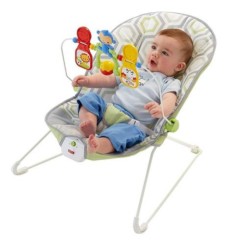 silla fisher price para bebés con vibraciones relajantes
