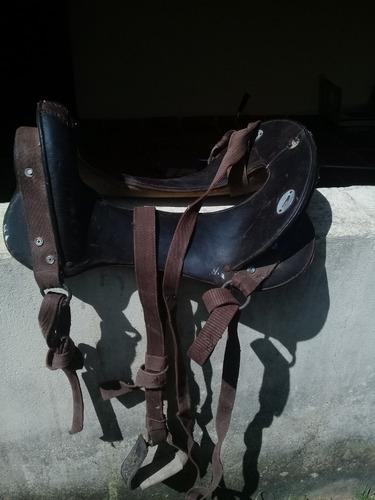 silla (fuste) de montar caballo de cuero