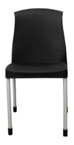 silla galana con patas de caño quality plastic