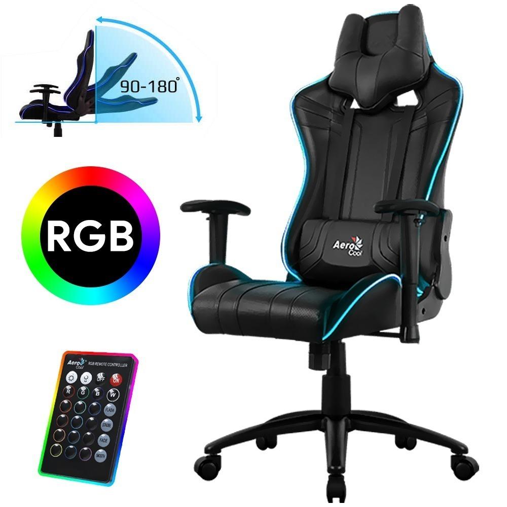 Ac120 Rgb Ps4 Gamer Air Aerocool Silla Xbox Gaming Pc QdCxBrWoe