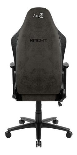 silla gamer aerocool knight iron black
