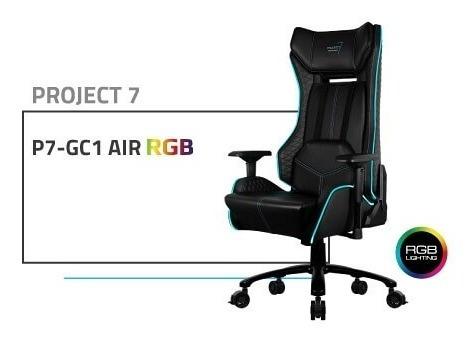silla gamer aerocool project 7 gc1 air rgb, reclinable