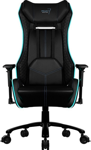 silla gamer aerocool project 7 gc1 air rgb, reclinable
