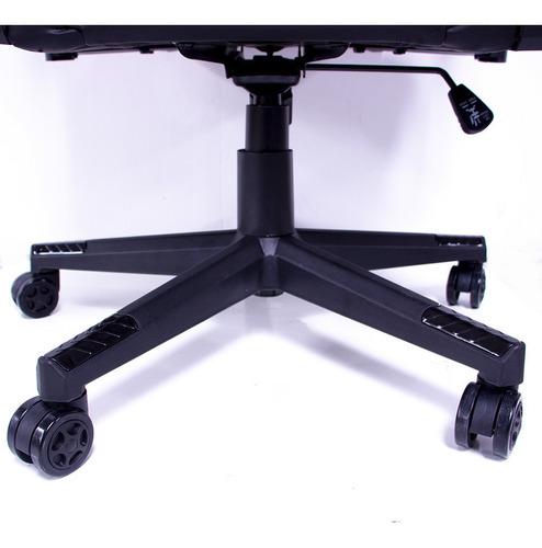 silla gamer camuflaje audiotek gaming reclinable ergonomica