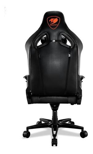 silla gamer cougar armor titan reclinable, negro