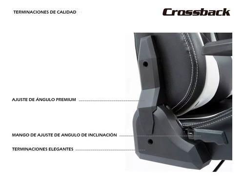 silla gamer crossback sa-r-801 increible oferta