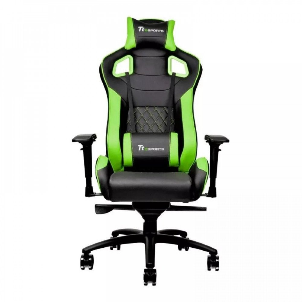 Negro Deportiva Thermaltake Gamer Gt Verde Fit Silla fgY6vIby7