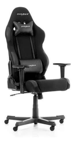 Series Dx Tela Racing Textil Gamer Black Silla Racer oexrWCQBd