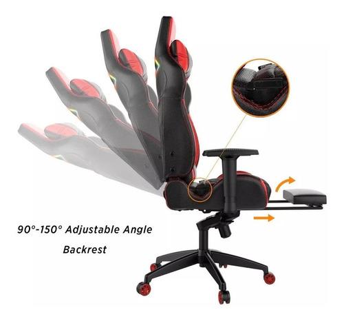 silla gamer gamdia achiles p1l color rojo