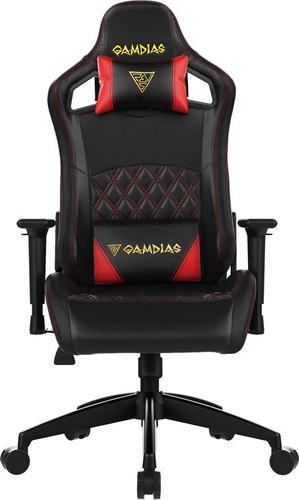 silla gamer gamdia aphrodite ef1 negro rojo