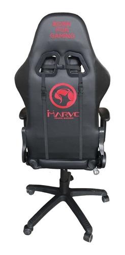 silla gamer marvo ch-106 negra edición limitada exclusiva