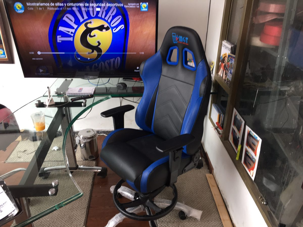 Silla gamer oficina personalizada video juegos gerente for Sillas para gamers